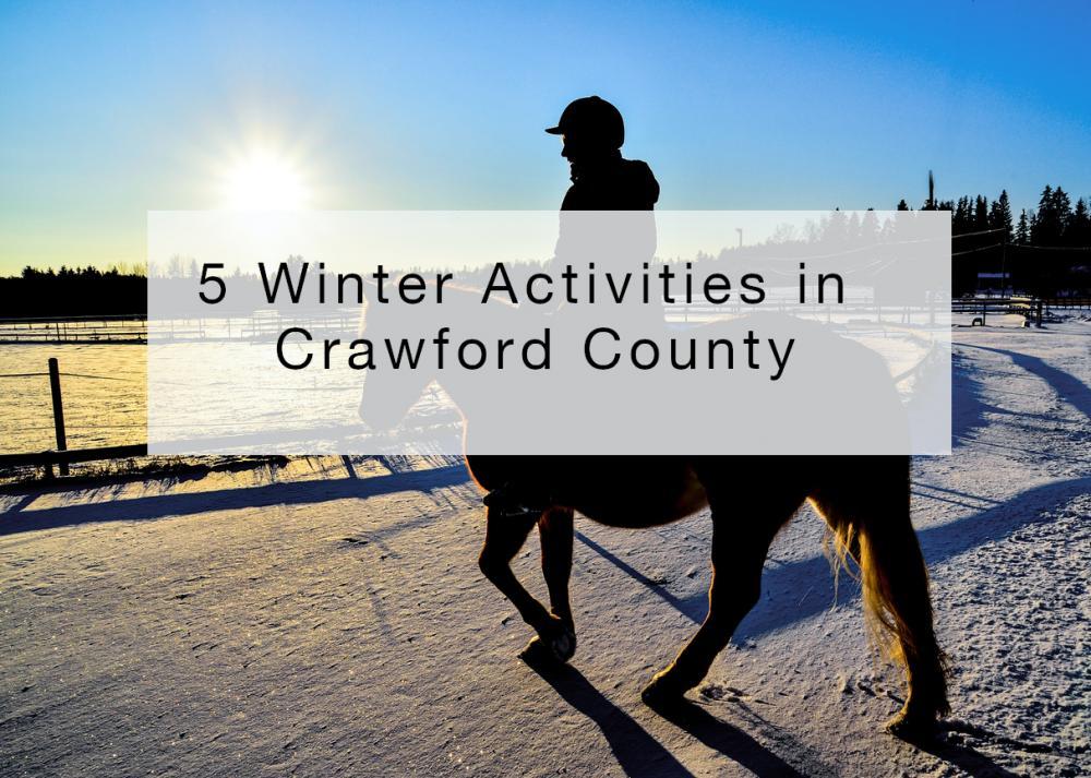 5 Winter Activities in Crawford County