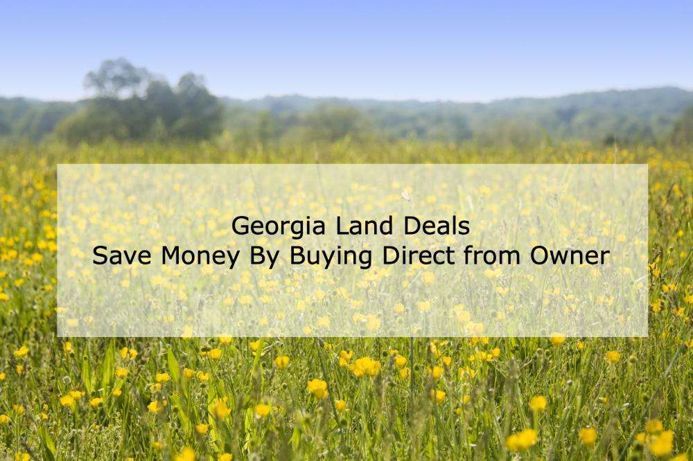GOergia Land Deals - Save Money By Buying Direct from Owner