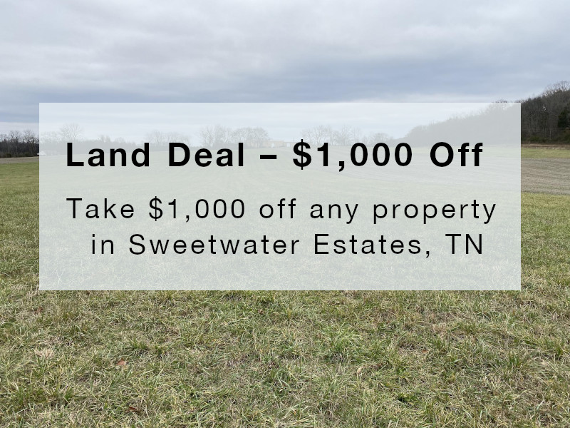 See what's on sale in our Sweetwater Estates, TN properties.