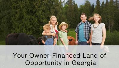Your Owner-Financed Land of Opportunity in Georgia