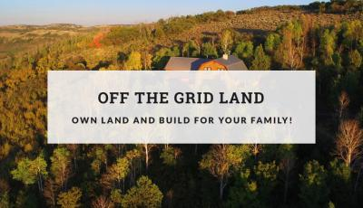 Off the grid land image