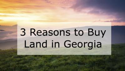 3 Reasons to Buy Land in Tennessee