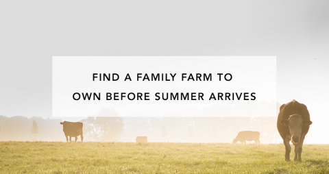 Find a Family Farm to Own Before Summer Arrives