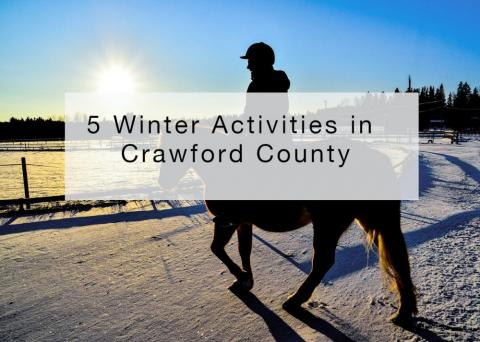 5 Winter Activities in Crawford County