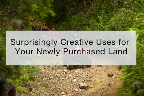 Surprisingly Creative Uses for Your Newly Purchased Land