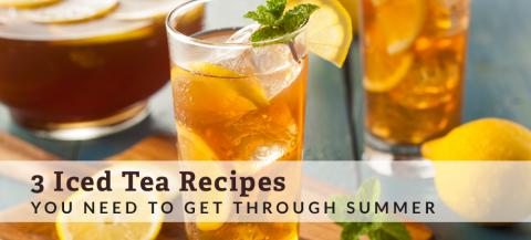 iced tea recipes
