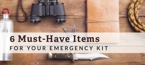 items for emergency kit