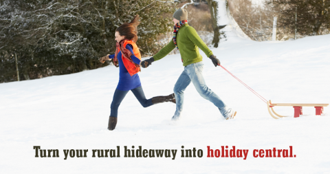 rural holiday plans