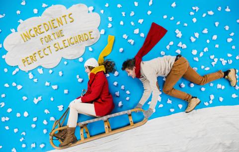 perfect sleigh ride