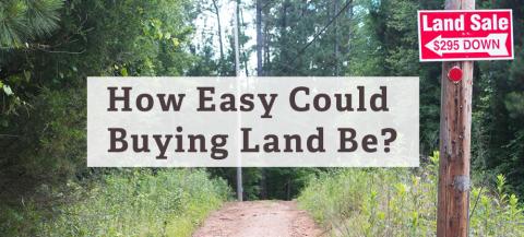 ease of buying land