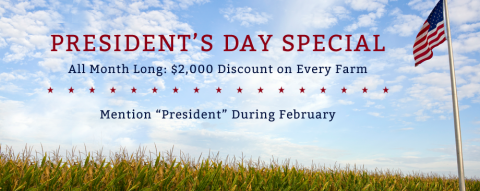february land discount